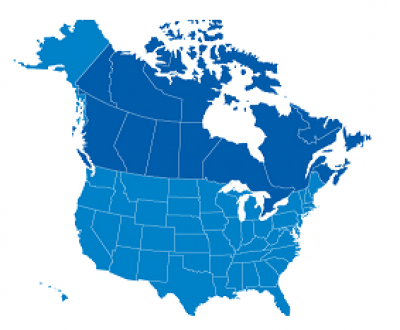 Singapore Embassies And Consulates In The United States Water - Map of us canada