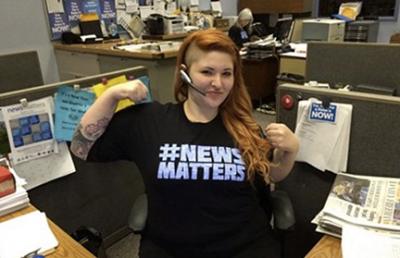 #newsmatters photo