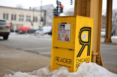 Chicago Reader Box