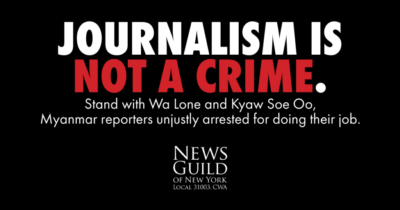 Journalism Not a Crime