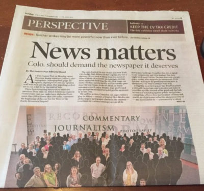 DFM Denver Post News Matters Cover