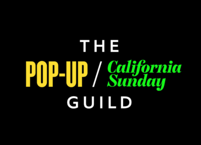 Pop-Up California Sunday logo