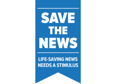 SaveTheNews logo website