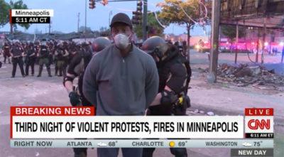 CNN Arrest